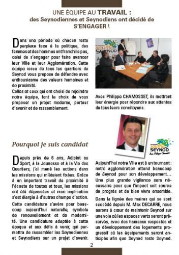 elections municipales, seynod 2014, un nouveau souffle pour seynod