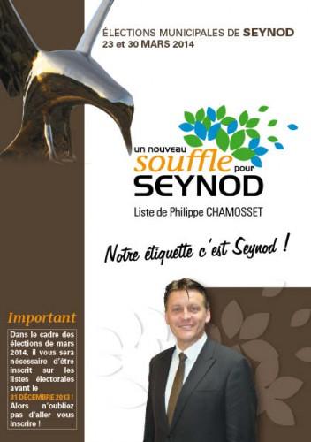 élection municipales, seynod 2014, un nouveau souffle pour seynod